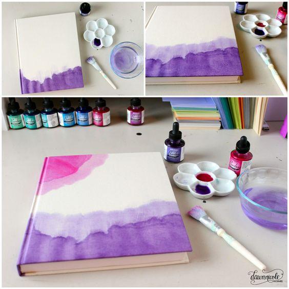 los mejores diy para pintar con acuarelas (12)