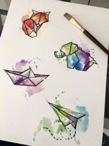 los mejores diy para pintar con acuarelas (13)