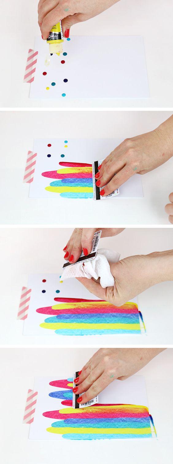 los mejores diy para pintar con acuarelas