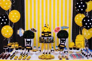 mesa de dulces para fiesta de batman (4)