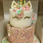 pastel de 2 pisos de unicornio (3)