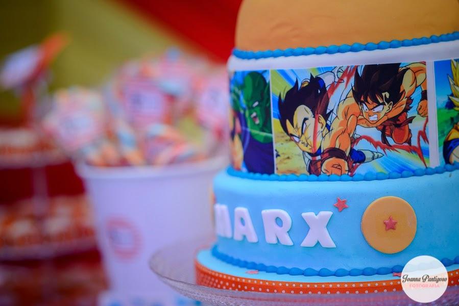 pastel de cumpleanos para fiesta de goku (3)
