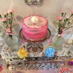 pastel pequeno para fiesta de princesa