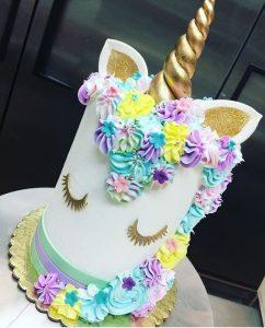 pasteles para cumple de unicornio