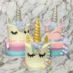 pasteles para cumple de unicornios