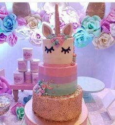 pasteles para cumple de unicornios (2)