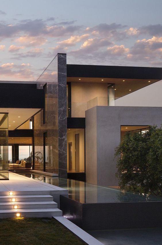 Piedra laja o marmol para las fachadas decoracion de for Las mejores fachadas de las villas
