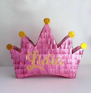 pinata para fiesta de princesas