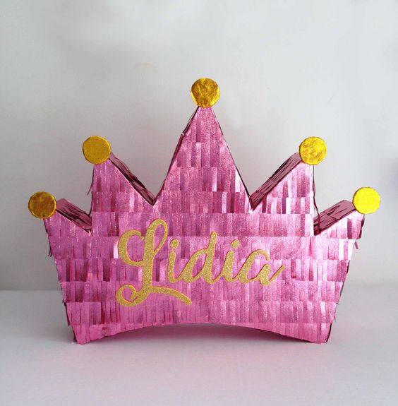 piñata para fiestas de princesas