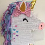 pinata para fiesta de unicornios (2)