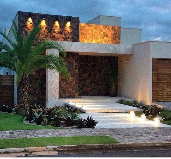 Fachadas de casas modernas minimalistas 2 como for Organizar casa minimalista