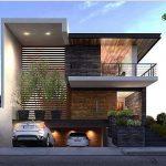 Fachadas de Casas modernas minimalistas (4)