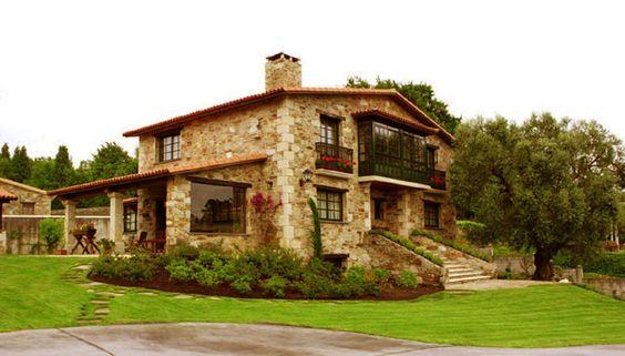 Fachadas de casas modernas minimalistas 5 - Casas rusticas gallegas ...