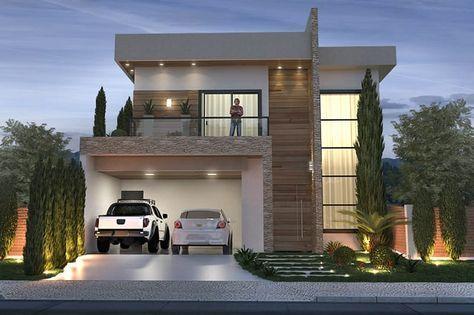 Fachadas de casas modernas minimalistas 6 decoracion for Las mejores casas modernas