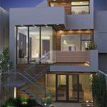 Fachadas de Casas modernas, minimalistas rusticas sencillas (2)