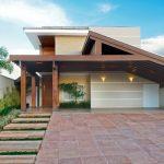 Fachadas de Casas modernas sencillas de dos y un piso (3)