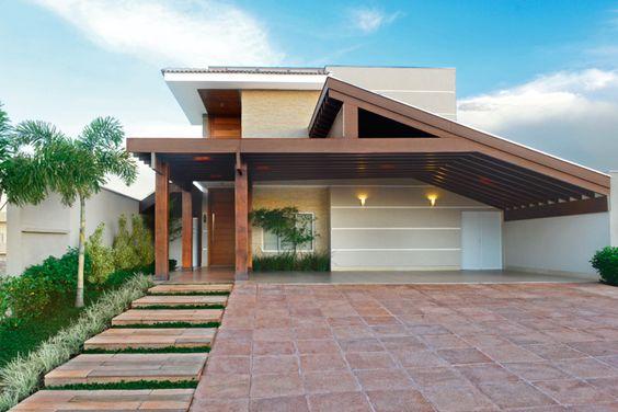 Fachadas de casas modernas sencillas de dos y un piso 3 for Fachadas de casas de un piso sencillas