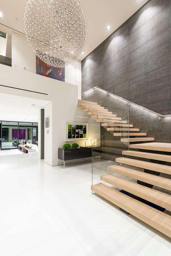 Fachadas de casas modernas sencillas de dos y un piso 4 for Decoracion de interiores de casas sencillas