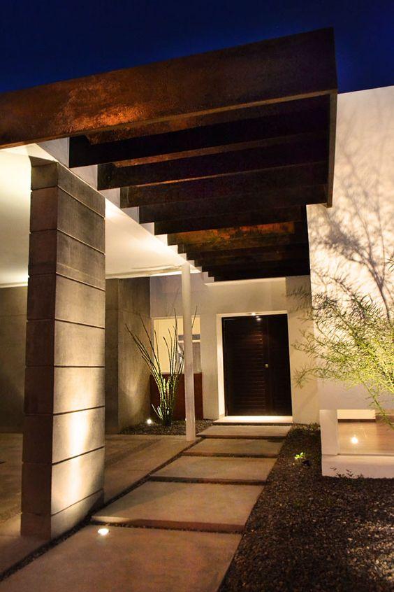 Fachadas de casas modernas sencillas de dos y un piso 5 for Fachadas de casas modernas de dos pisos sencillas