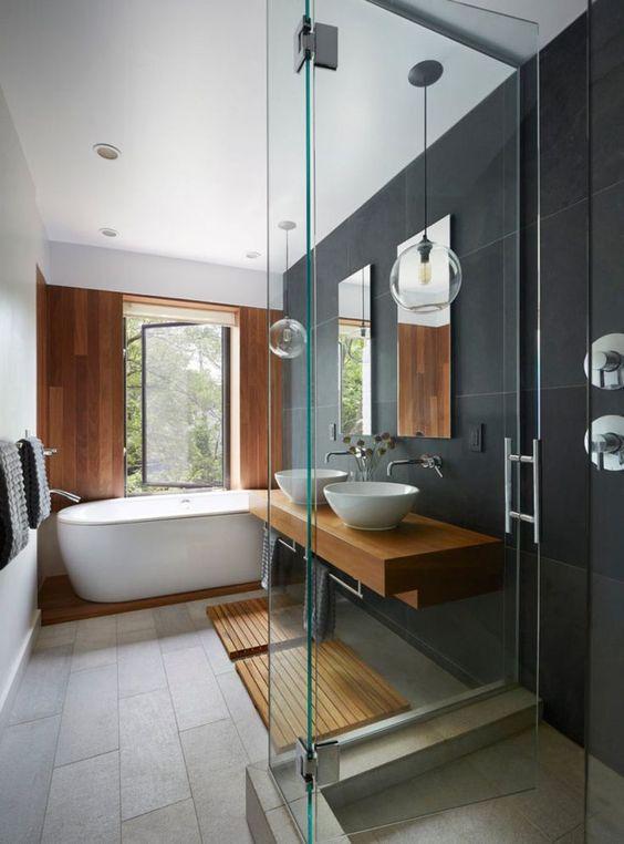Azulejos para dise o de ba os las mejores tendencias for Habitaciones con azulejos