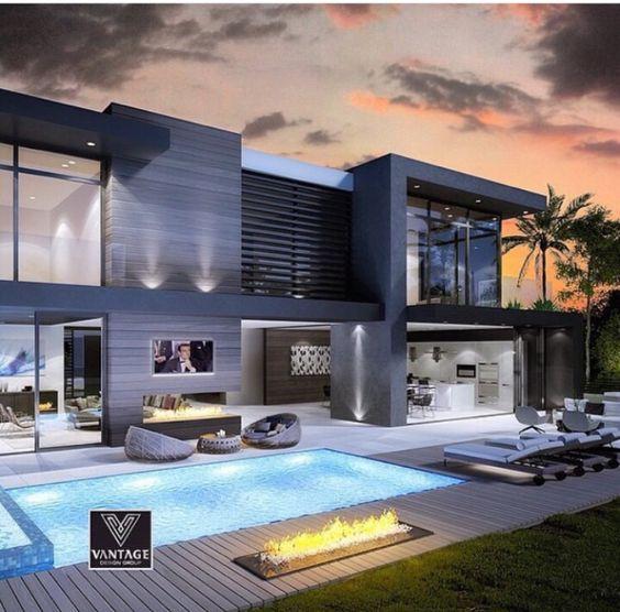 casas modernas con piscina (5)