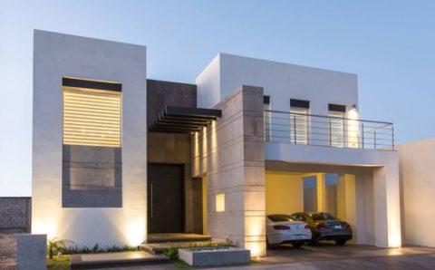 Casas modernas de dos pisos con 2 recámaras con terreno pequeño