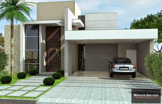 Casas modernas de una planta decoracion de interiores for Interiores de casas modernas de una planta