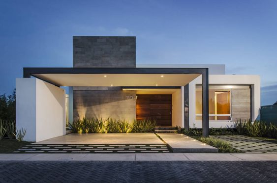 Casas modernas de una planta