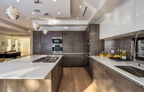 Casas modernas 2018 2019 fotos e ideas de casas modernas for Interior cocinas modernas
