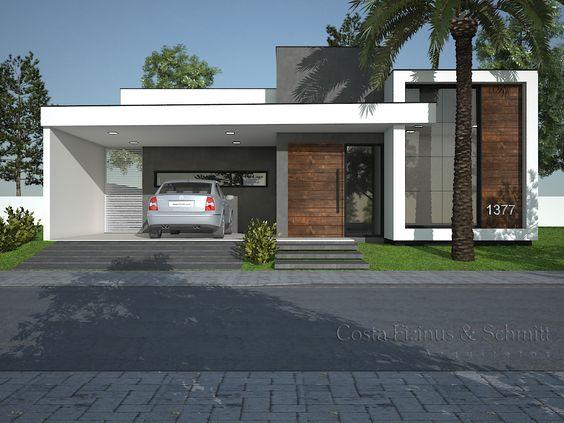 Casas modernas pequeñas