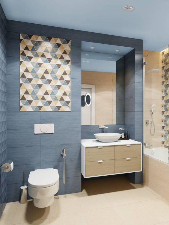 Azulejos para dise o de ba os las mejores tendencias for Azulejos para cuartos de bano modernos