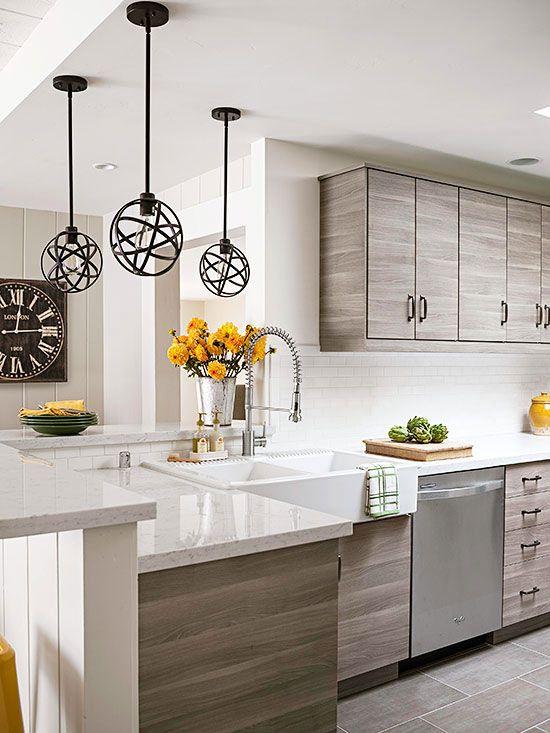 Cocinas modernas 2018 decoracion de interiores fachadas for Cocinas modernas apartamentos
