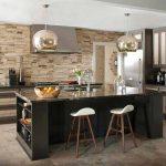 cocinas modernas con piedra