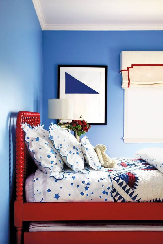 Colores para dormitorios Little Boy Blue