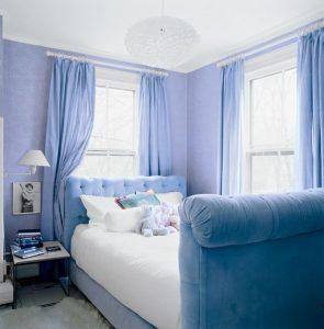 Colores para dormitorios Little Boy Blue