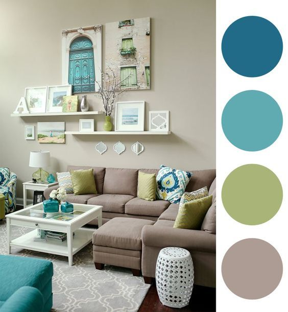 Colores para salones 2019 colores de moda para decorar - Colores de pinturas para salones ...