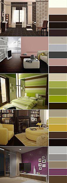 Colores para salones 2018 te decimos cuales son los for Paleta de colores para pintar salones