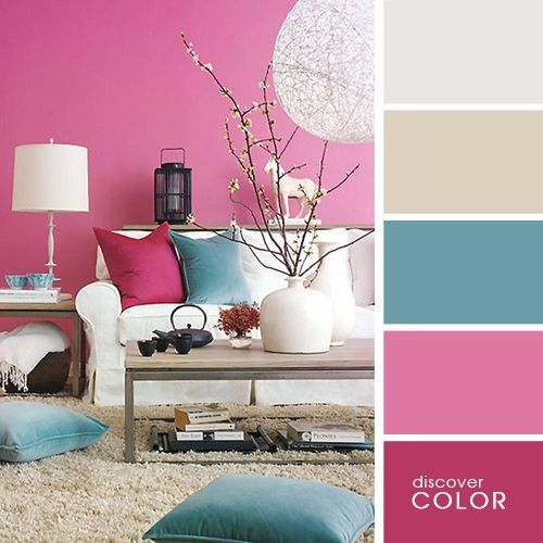 Colores para salones 2018 decoracion de interiores for Combinacion de colores en decoracion