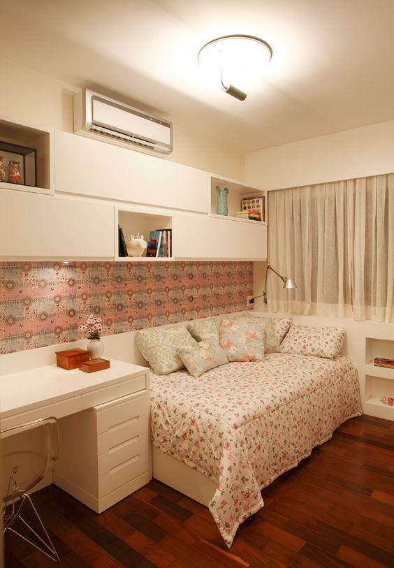 Cuartos con cama individual para niñas
