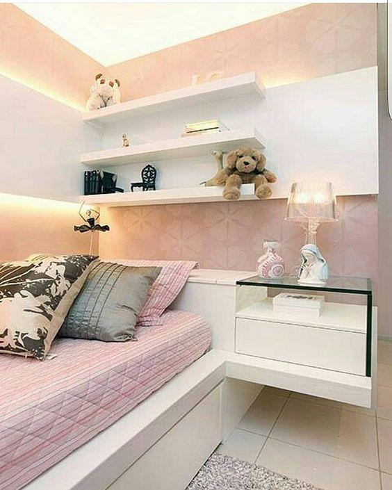 Cuartos con cama individual para ni as decoracion de for Cuartos para ninas 2018