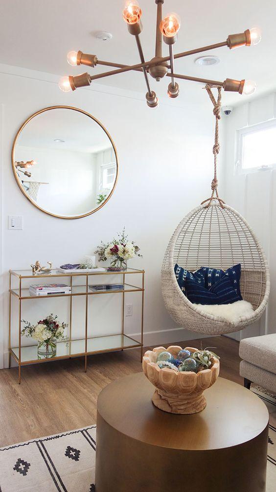 decoracion con espejos en la sala (6)