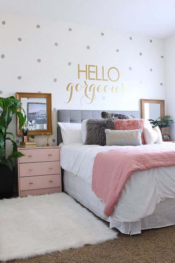 Decoraci n de dormitorios modernos 2018 dise os que te for Cuartos para ninas grandes modernos