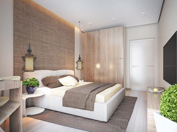 decoracion de dormitorios modernos matrimoniales sencillos (1)