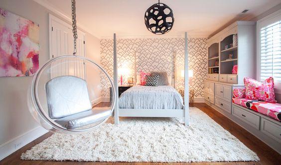 Decoraci n de dormitorios modernos 2019 dise os que te for Decoracion de cuartos para jovenes mujeres