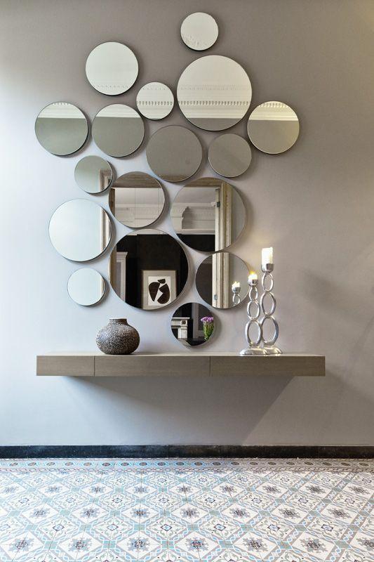 Decoración de interiores con espejos