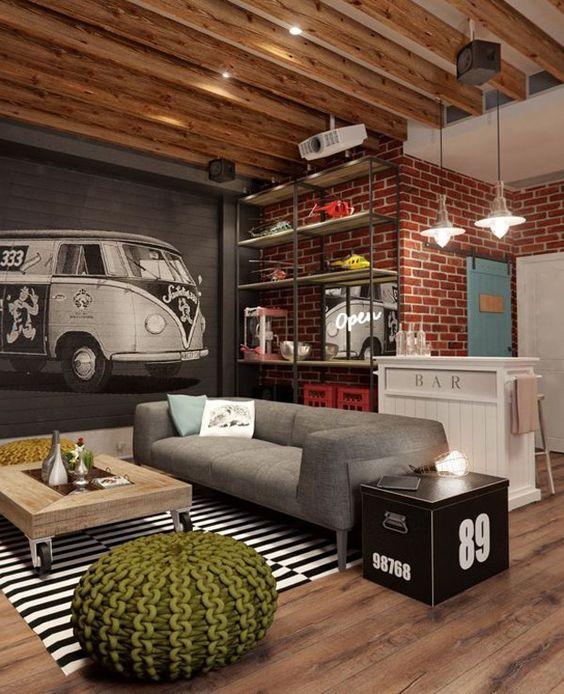 decoracion de interiores con materiales reciclados