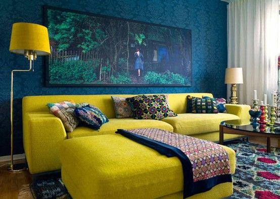 Decoración de interiores pintura