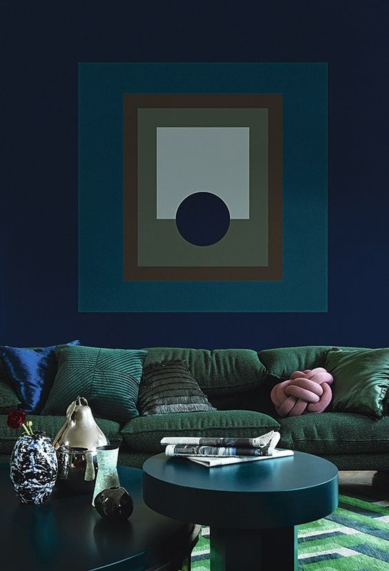 Decoraci n de interiores tendencias 2018 2019 for Decoracion de interiores en pintura