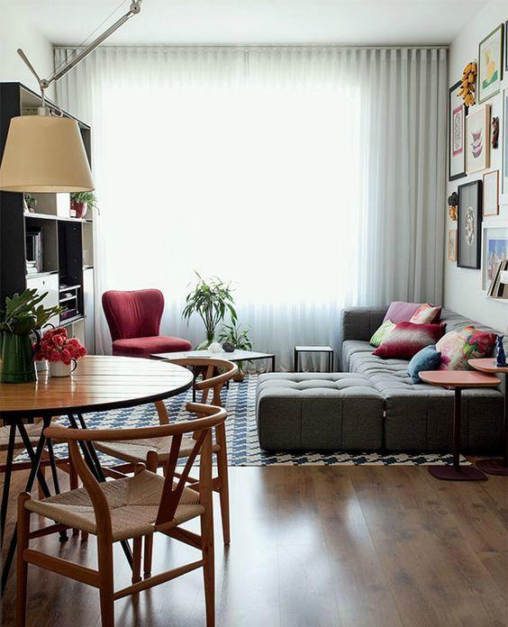 Decoración de interiores sala y comedor