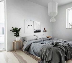 Dormitorios pequeños modernos